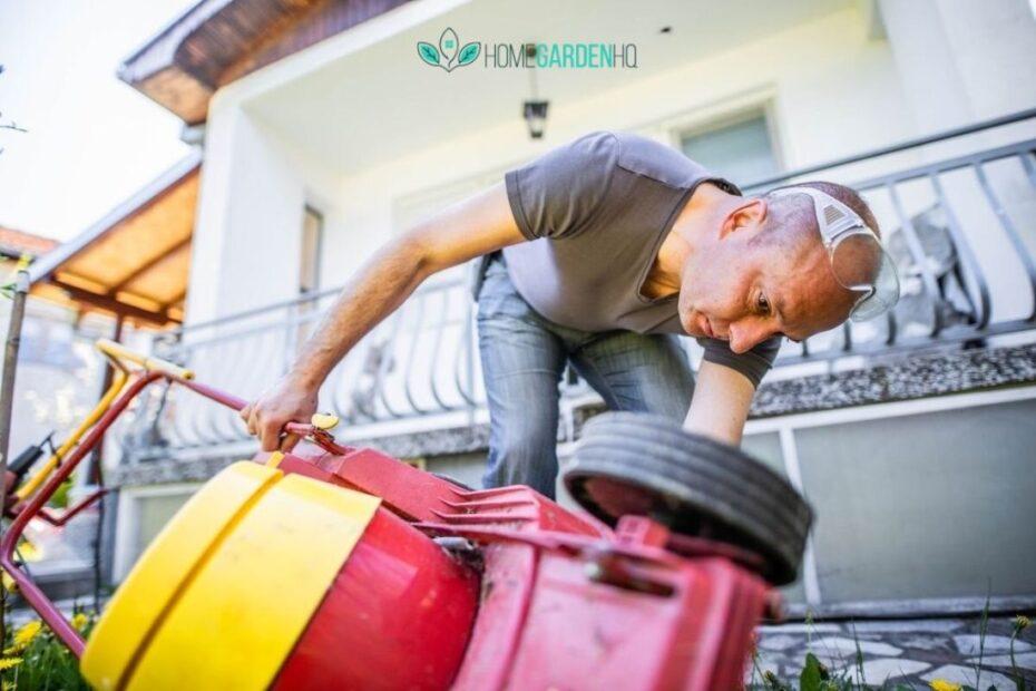 When A Lawn Mower Starts Up – Then Dies