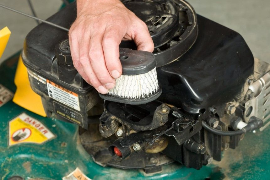 How Often Should I Be Cleaning The Air Filter Element On My Mower