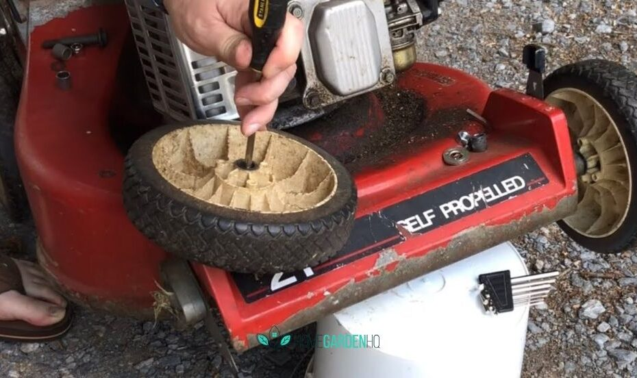 How To Fix Wobbly Lawn Mower Wheels