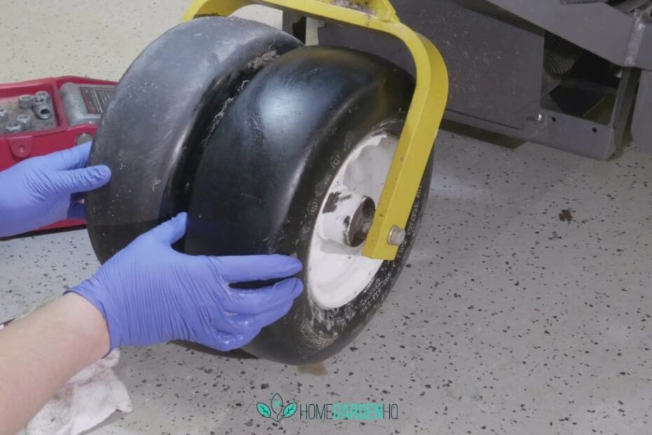 How To Keep Lawn Mower Tyres From Going Flat