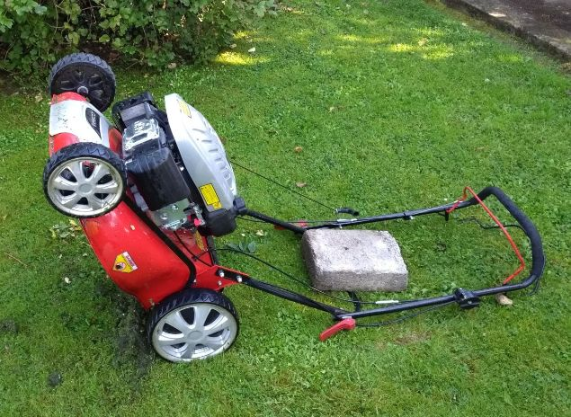 How To Secure Your Lawnmower To a Tree